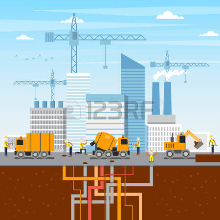 Building site clipart banner stock 19,230 Building Site Stock Vector Illustration And Royalty Free ... banner stock