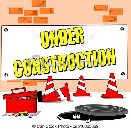 Building site clipart. Clipartfest under construction cartoon