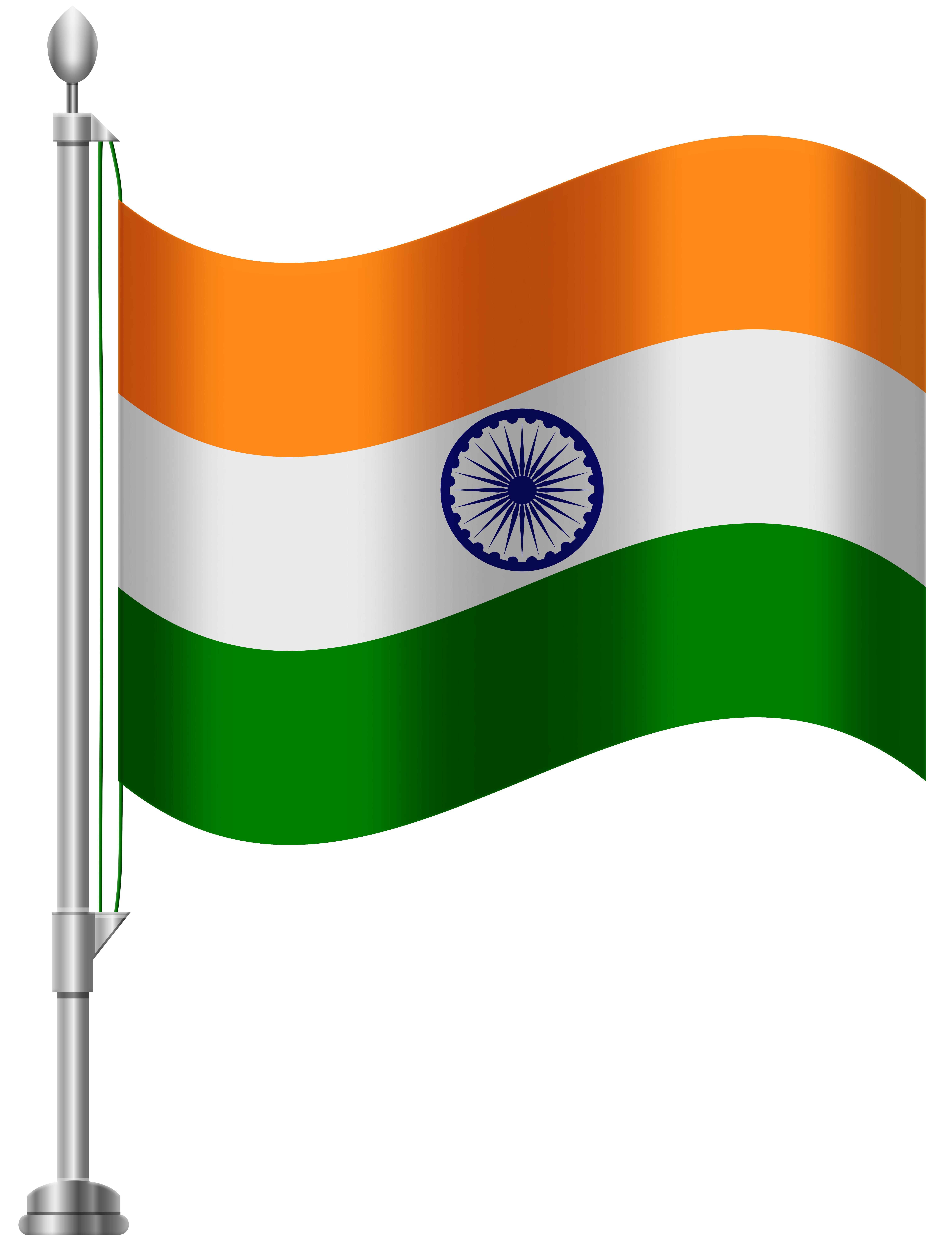 Clipart indian flag banner library library India Flag PNG Clip Art - Best WEB Clipart banner library library