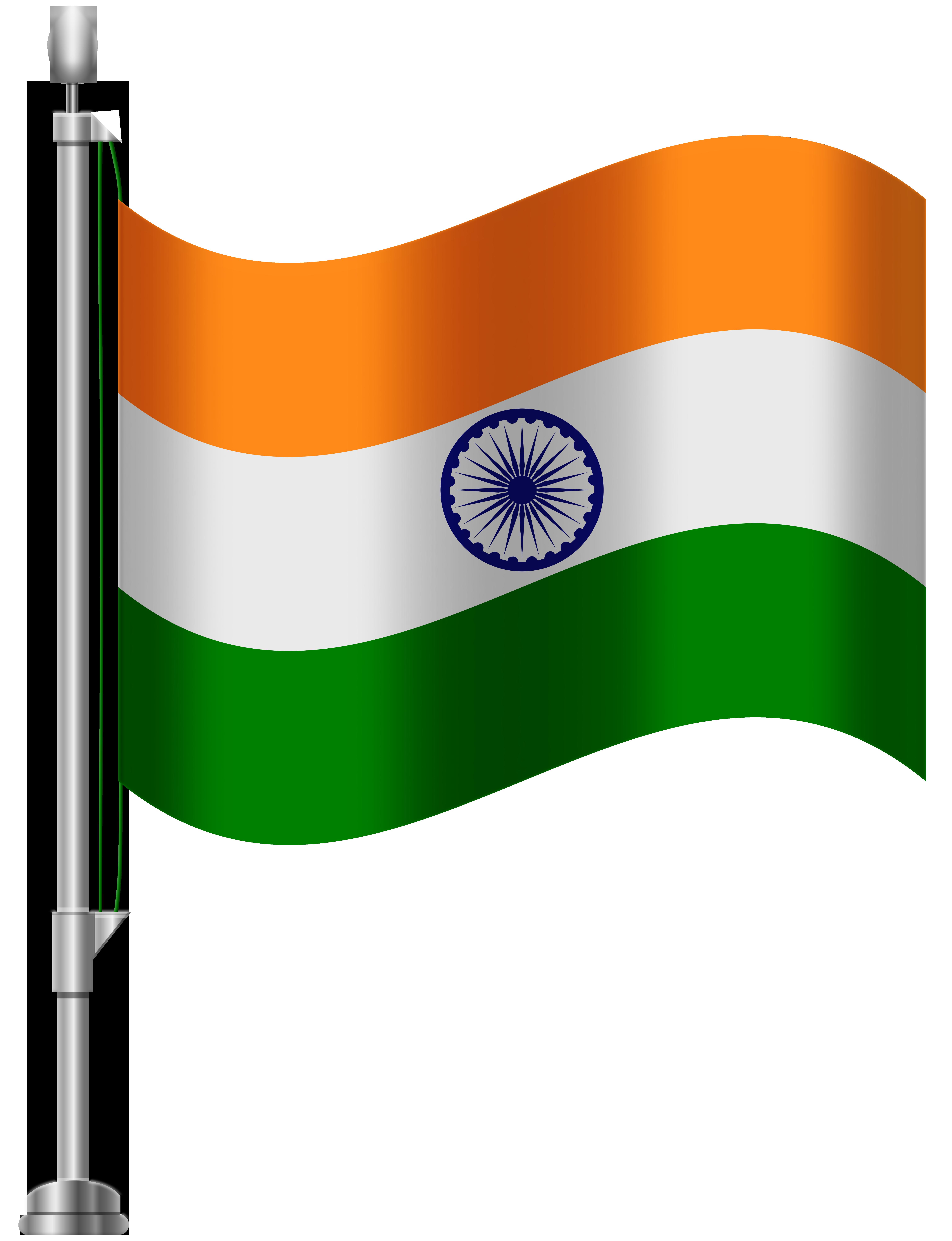 Flag clipart india graphic transparent download India Flag PNG Clip Art - Best WEB Clipart graphic transparent download