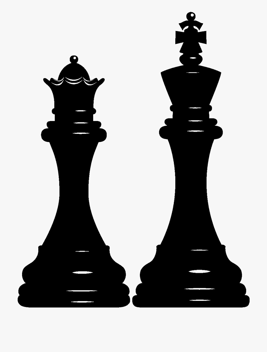 Buildings that are chess pieces clipart