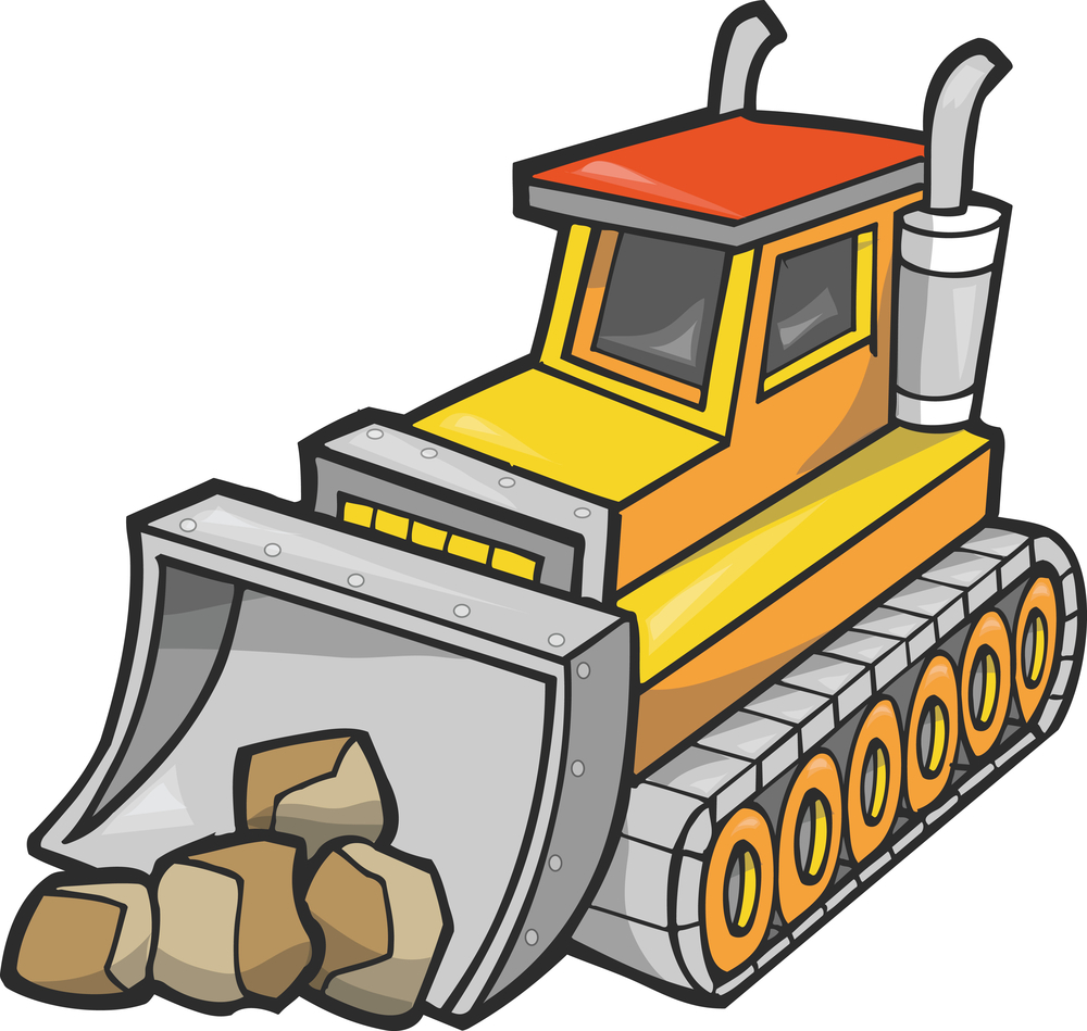 Bull dozer clipart free stock Bulldozer Clipart | Free download best Bulldozer Clipart on ... free stock