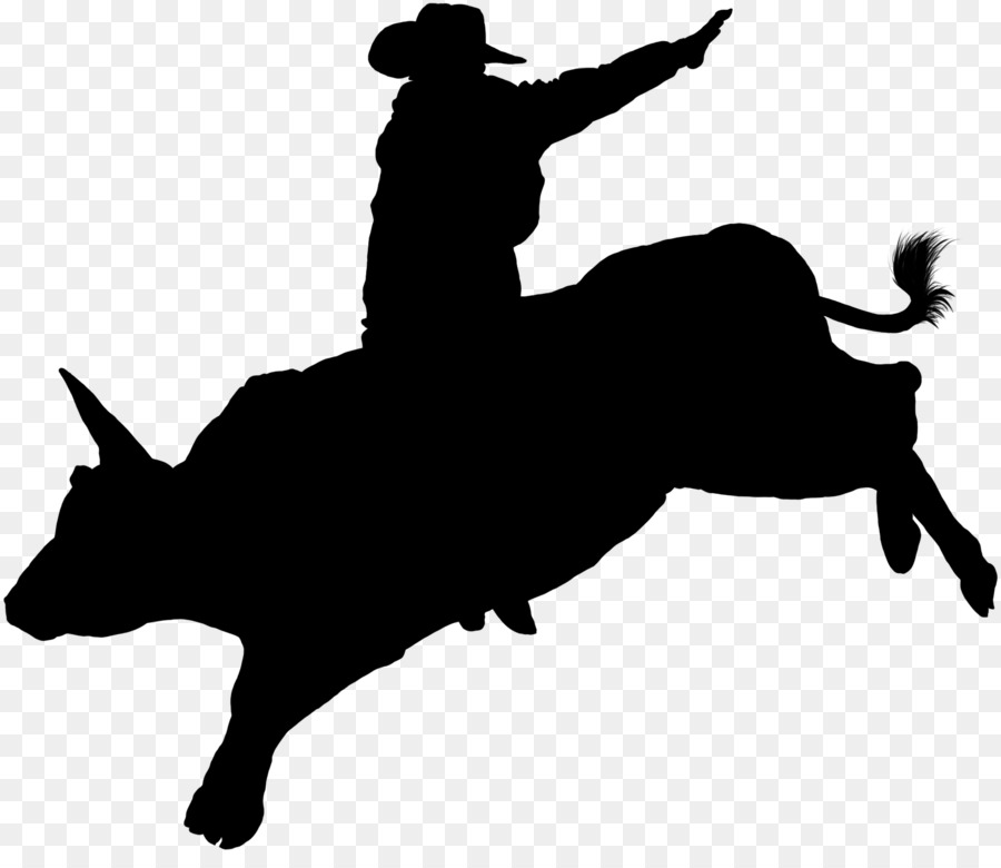 Horse cartoon rodeo silhouette. Free bull riding clipart