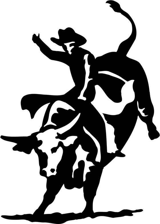Free bull riding clipart. Station