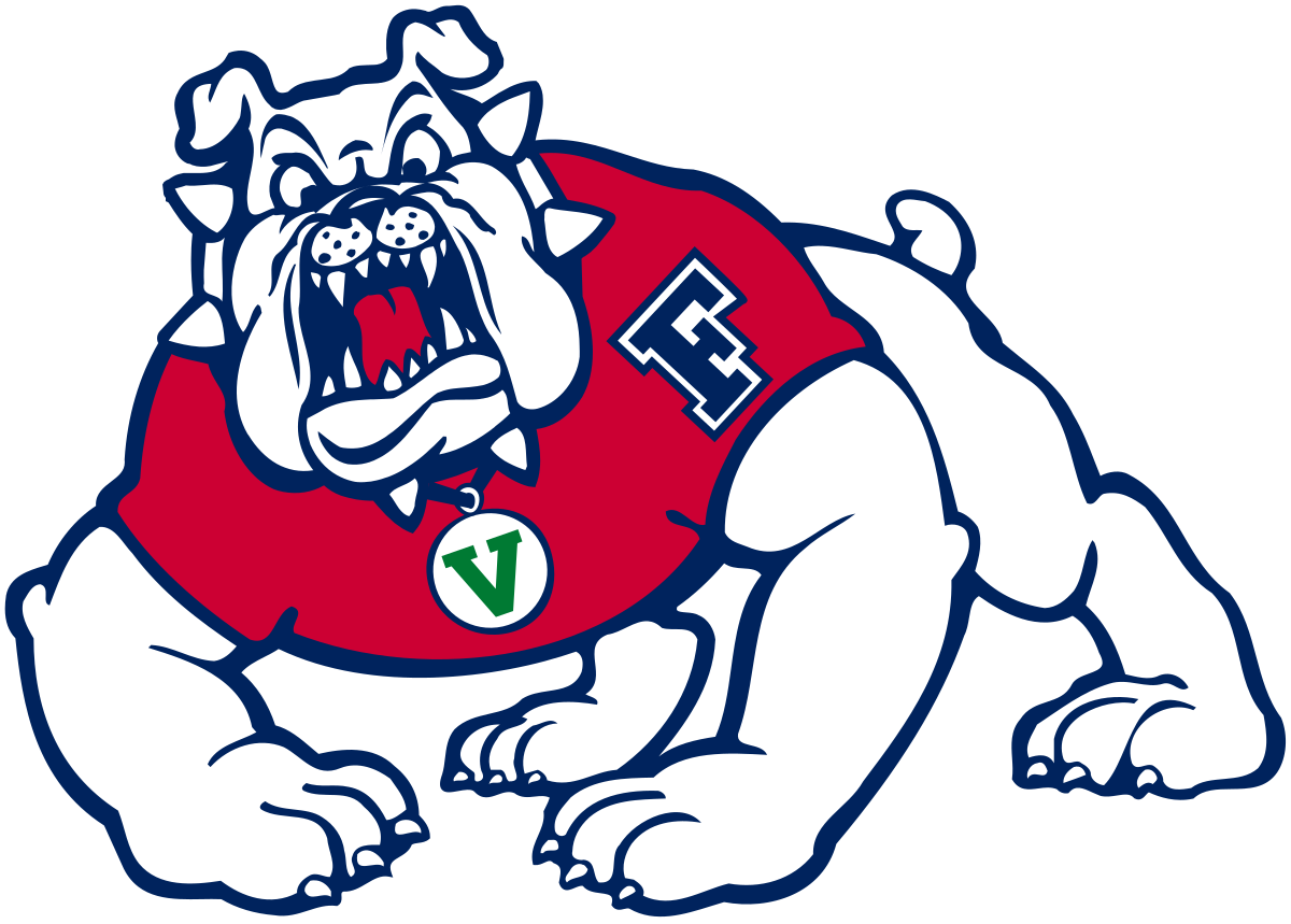 Horse football mascot clipart vector royalty free Fresno State Bulldogs - Wikipedia vector royalty free