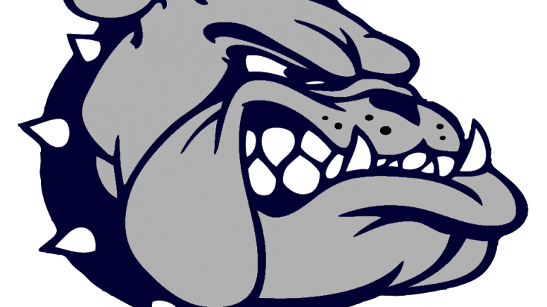 Bulldog basketball playoffs clipart vector stock Garfield Heights pulls away in second half to defeat Cleveland ... vector stock