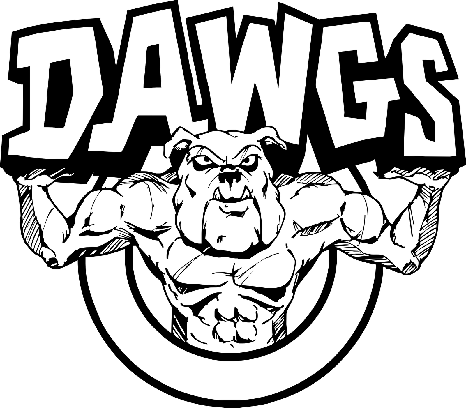 17 Best images about C-C DAWGS on Pinterest | Logos, Bulldog ... picture freeuse stock