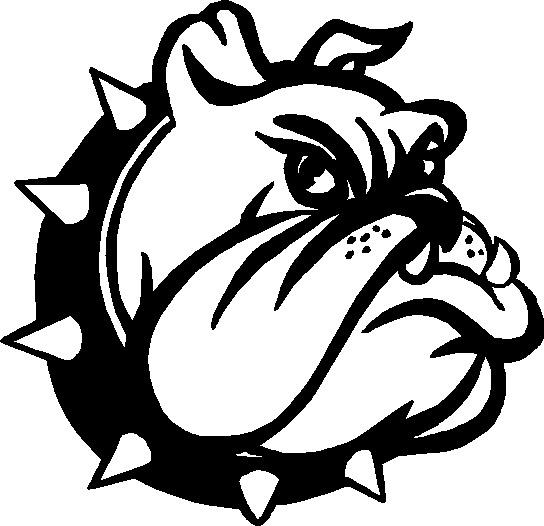 Bulldog Word Clipart - Clipart Kid jpg black and white stock