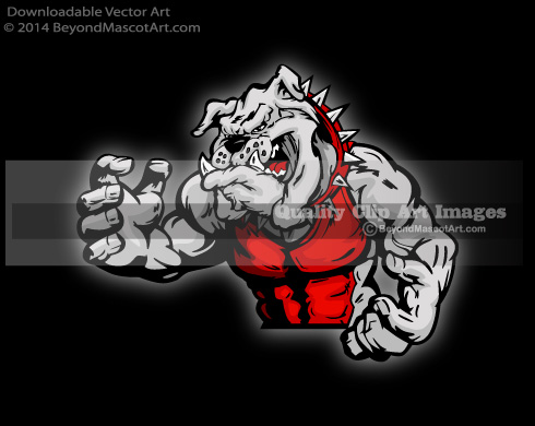Bulldog clipart logo jpg. Mascot clip art sports