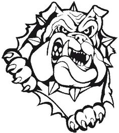 Bulldog clipart with bow svg black and white library 11 Best BULLDOG CLIPART images in 2015 | Bulldog clipart, Bulldog ... svg black and white library