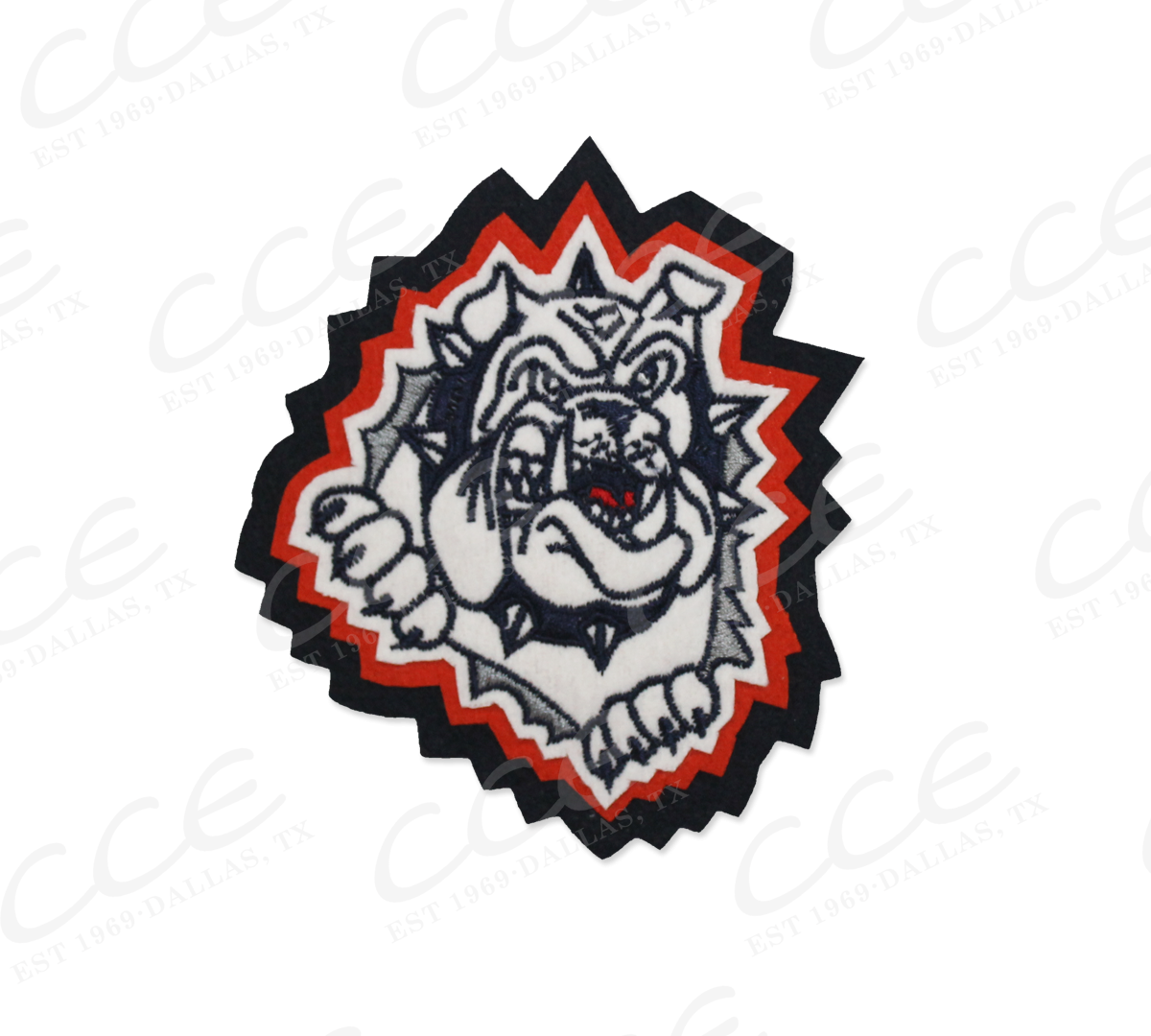 Bulldog football mascot clipart clipart freeuse stock McKinney North HS Bulldogs Sleeve Mascot clipart freeuse stock