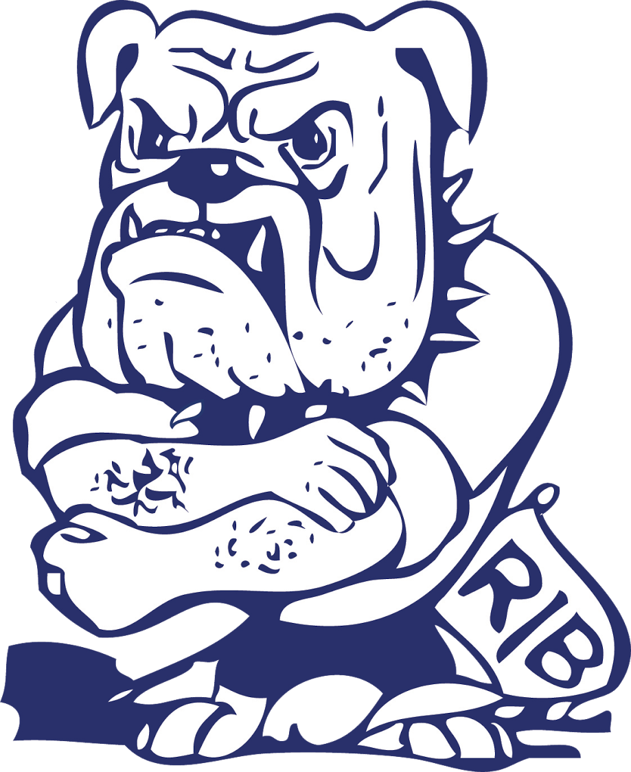 Bulldog football mascot clipart svg library stock The Riverside Brookfield Bulldogs - ScoreStream svg library stock