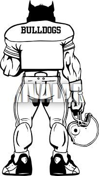 Bulldog standing clipart png black and white library Standing bulldog clipart 8 » Clipart Portal png black and white library