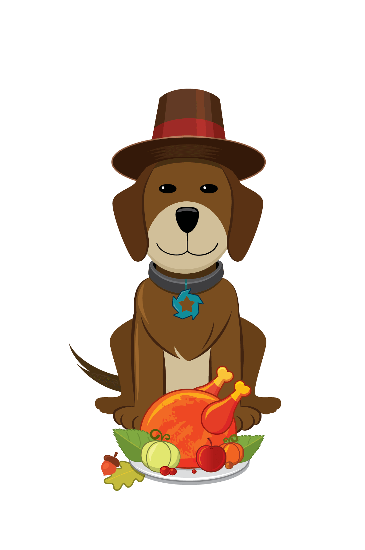 Dog turkey clipart.  collection of thanksgiving