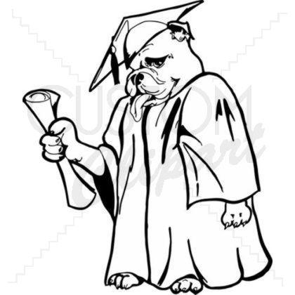 Bulldog with graduation cap clipart clipart free download Collection of 14 free Graduation clipart drawing aztec clipart ... clipart free download