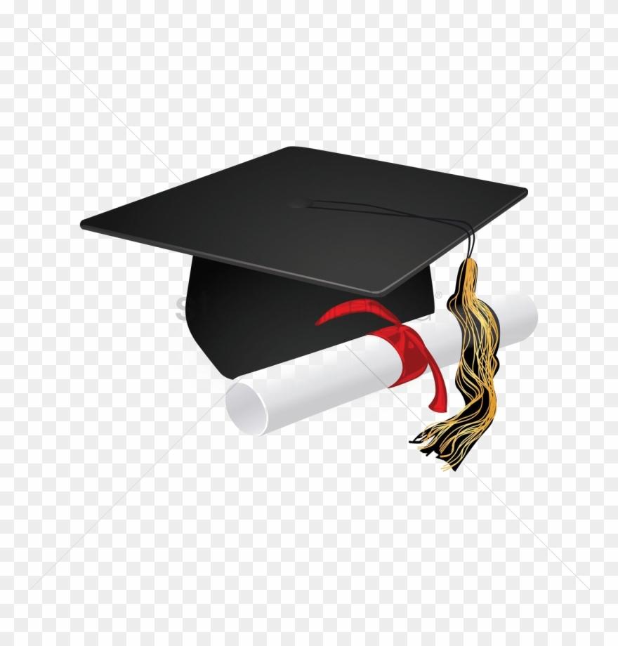 Bulldog with graduation cap clipart jpg free Graduation Cap Icon Transparent Download - Graduation Cap And Scroll ... jpg free