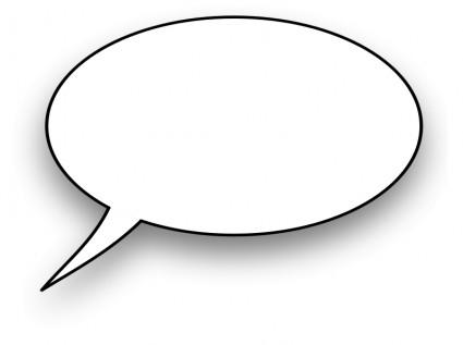 Bulle de dialogue clipart clip art royalty free Speech Bubble-vector Clip Art-free Vector Free Download clip art royalty free