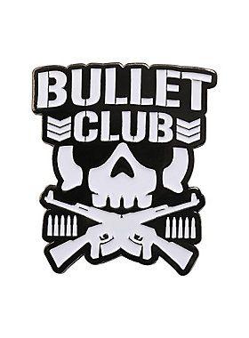 Bullet club logo clipart jpg royalty free stock New Japan Pro-Wrestling Bullet Club Logo Enamel Pin | Sports ... jpg royalty free stock