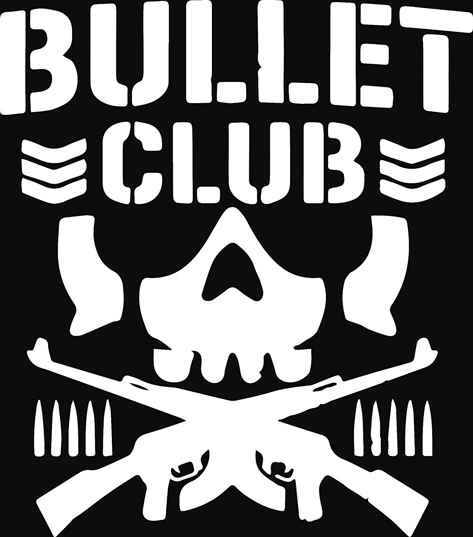 Bullet club logo clipart jpg ANGDEST Bullet Club Logo (White) Waterproof Vinyl Decal Stickers for Laptop  Phone Helmet Car Window Bumper Mug Tuber Cup Door Wall Decoration jpg