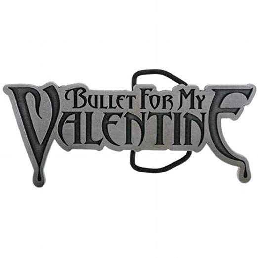 Bullet for my valentine clipart clip art stock Bullet For My Valentine - Mens - Logo Belt Buckle Silver clip art stock