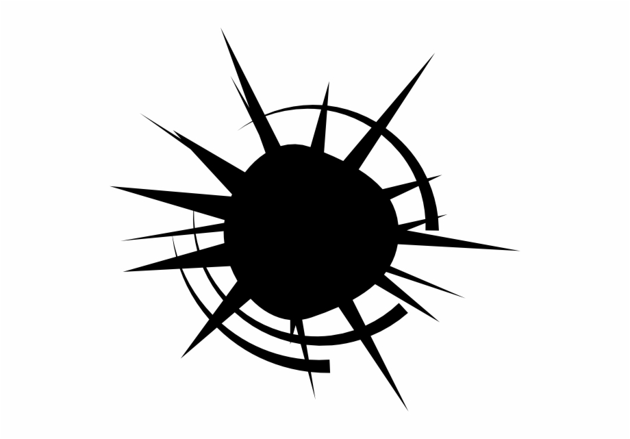 Black bullet hole clipart png royalty free Free Download - Bullet Hole Vector Png Free PNG Images & Clipart ... royalty free