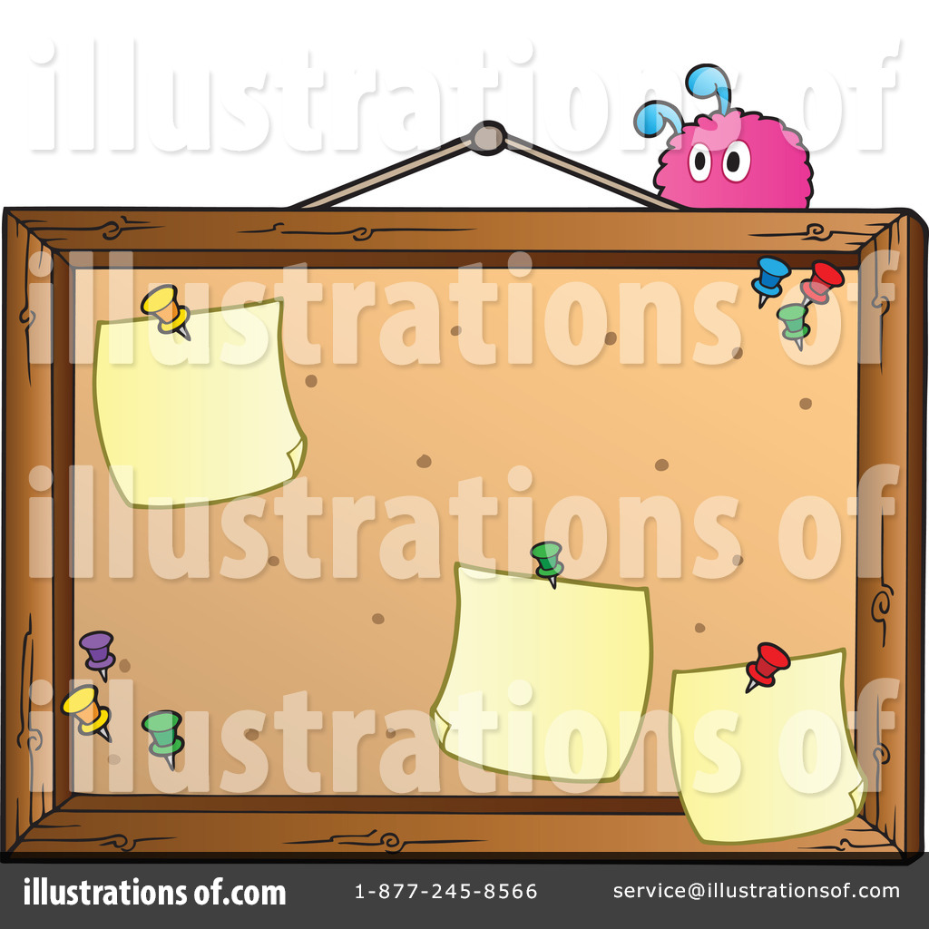 Bulletin board graphics clipart png freeuse download Bulletin Board Clipart #1067085 - Illustration by visekart png freeuse download