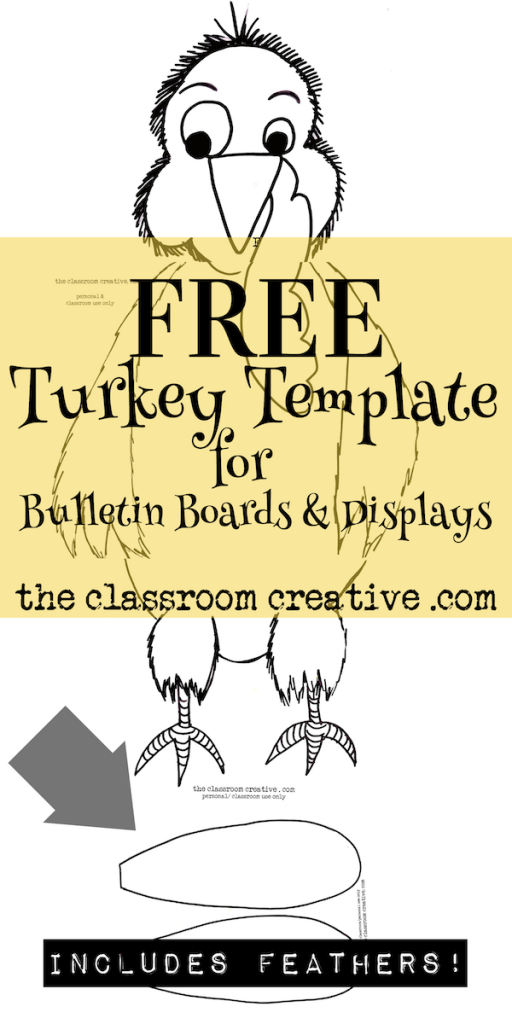 Bulletin boards celebrating holiday traditionsfor preschool clipart image black and white library free turkey template for bulletin boards and displays | Bulletin ... image black and white library