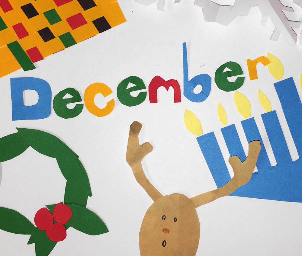 Bulletin boards celebrating holiday traditionsfor preschool clipart clip library December Resources for Winter Holidays | Scholastic clip library
