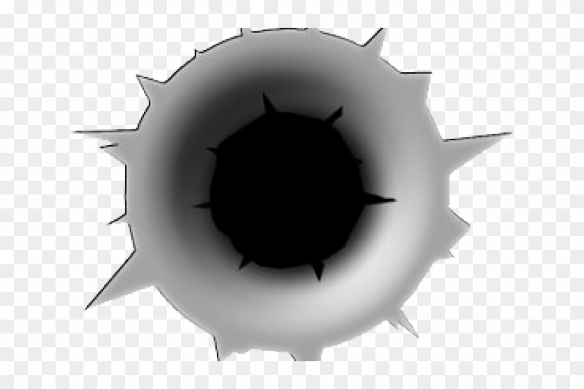 Black bullet hole clipart png jpg black and white stock Bullet Clipart Crack - Bullet Hole, HD Png Download - 640x480 ... jpg black and white stock