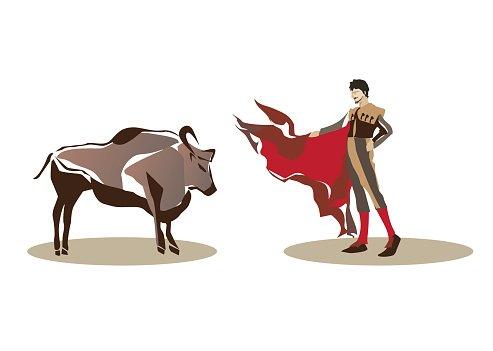 Bullfighting clipart transparent Matador and Bullfighting premium clipart - ClipartLogo.com transparent