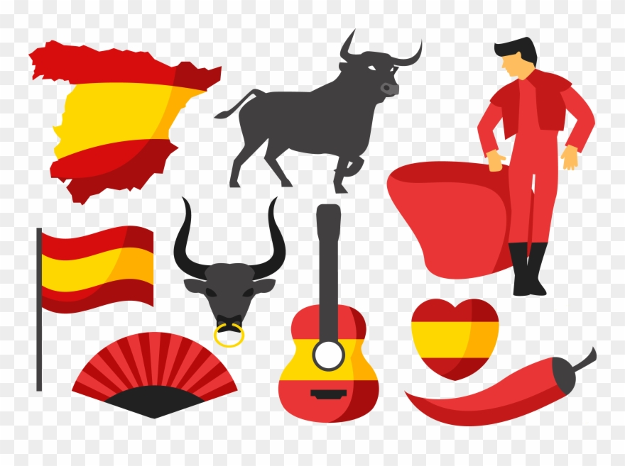 Bullfighting clipart transparent download Ox Clipart Bullfighting Spanish - Bullfighting Clipart - Png ... transparent download