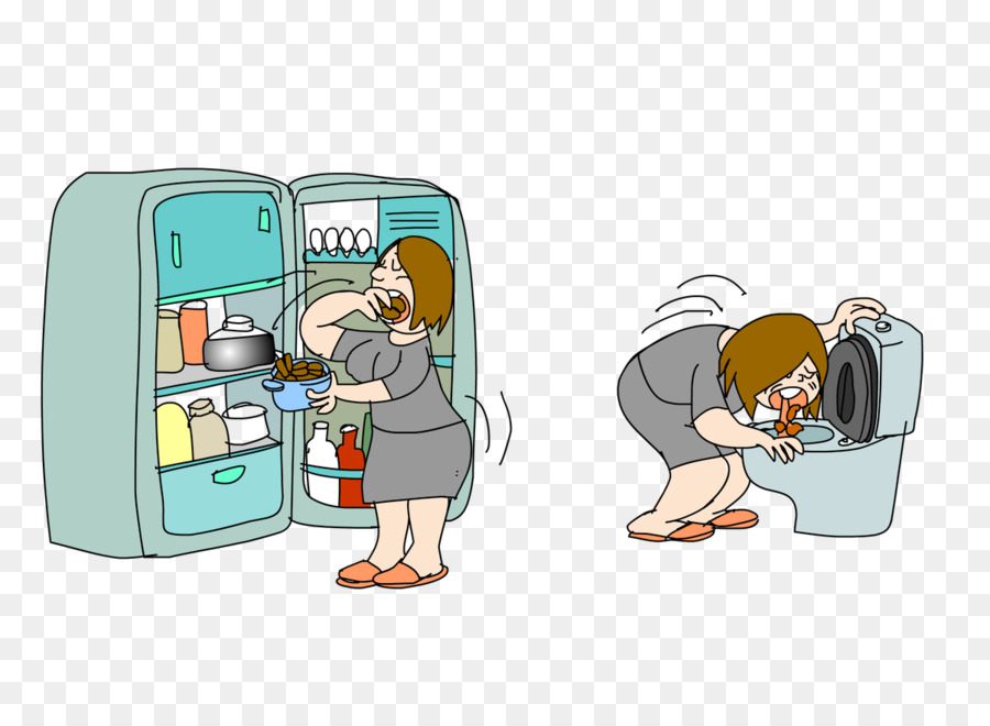 Bullimia clipart clip art free library Eating Cartoon png download - 1204*876 - Free Transparent Bulimia ... clip art free library