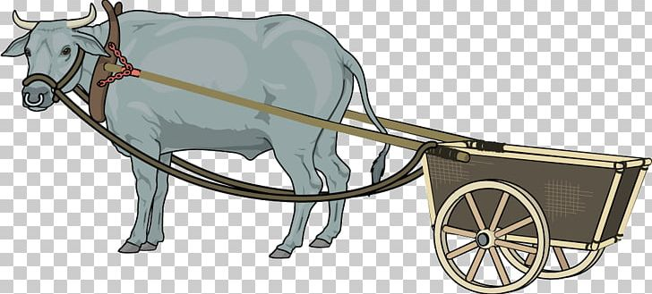 Oxcart clipart svg transparent library Ox-wagon Taurine Cattle Bullock Cart PNG, Clipart, Bicycle Accessory ... svg transparent library