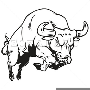 Bulls fighting clipart vector transparent stock Bull Fighting Clipart | Free Images at Clker.com - vector clip art ... vector transparent stock