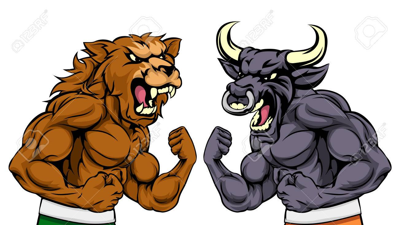 Bulls fighting clipart library Free Bulls Clipart fighting bull, Download Free Clip Art on Owips.com library