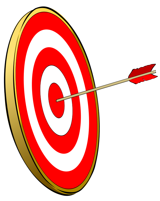Bullseye clipart free vector download Free Clipart: Bullseye | amcolley vector download