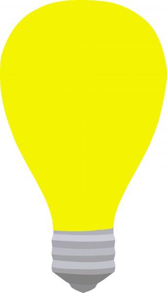 Bumbilya clipart svg library download Yellow bulb - stock photo free svg library download