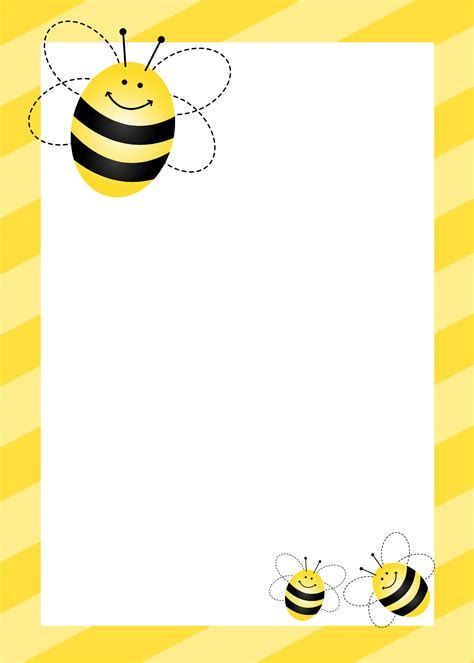 Bumble bee border clipart image royalty free stock Image result for Inspiring Bee Border Clip Art | Children\'s Church ... image royalty free stock