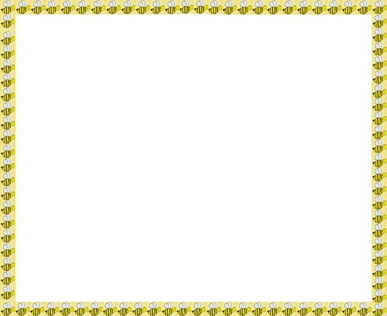 Bumble bee border clipart graphic library Free Bee Border Cliparts, Download Free Clip Art, Free Clip Art on ... graphic library