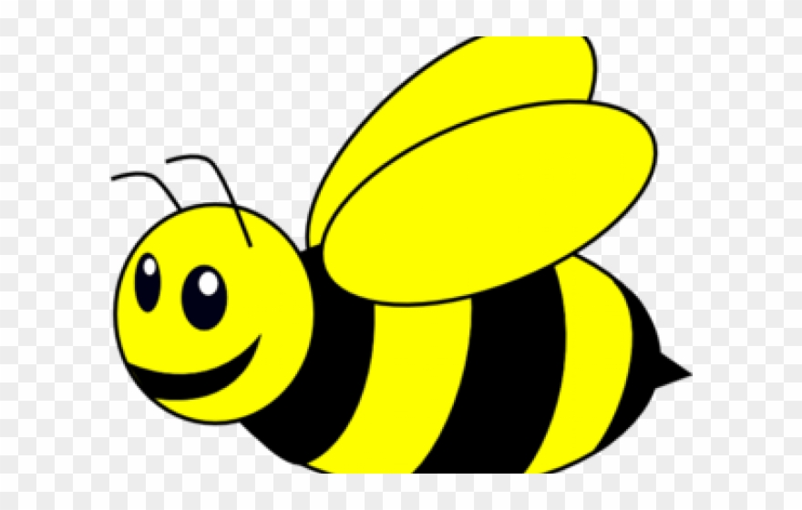 Clipart bumblebee clipart royalty free library Bumblebee Clipart - Black And White Clip Art Bee - Png Download ... clipart royalty free library