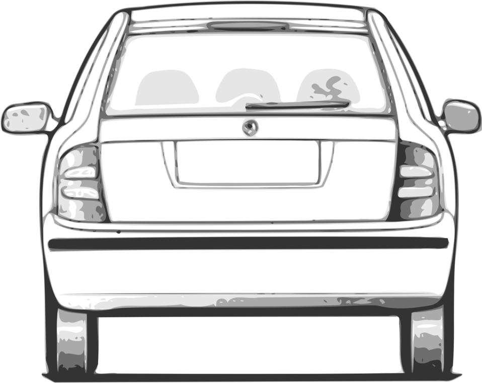 Car trunk clipart image download Public Domain Clip Art Image | Illustration of a car | ID ... image download