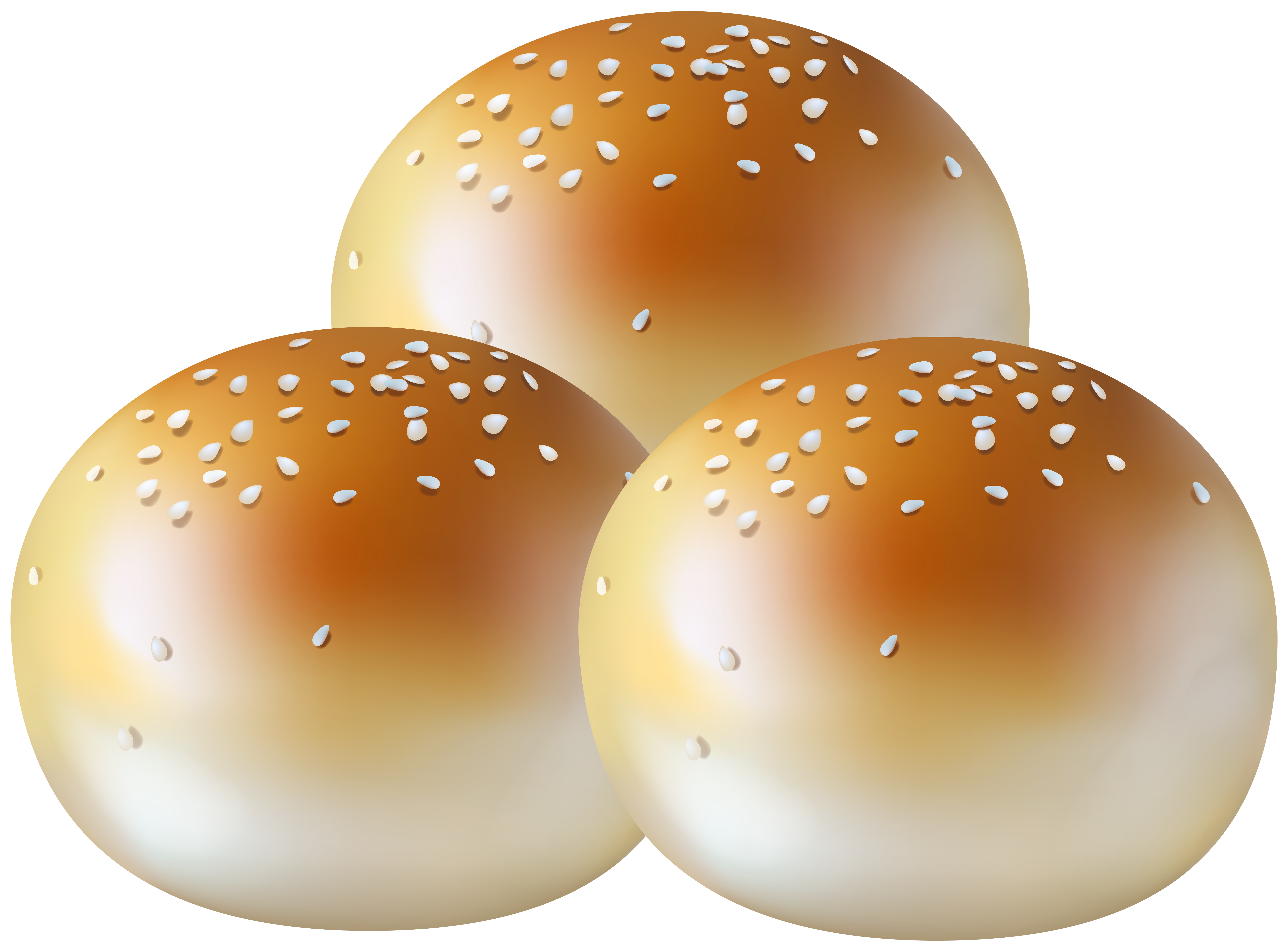 Bun clipart clip art royalty free stock Burger Buns PNG Clipart - Best WEB Clipart clip art royalty free stock