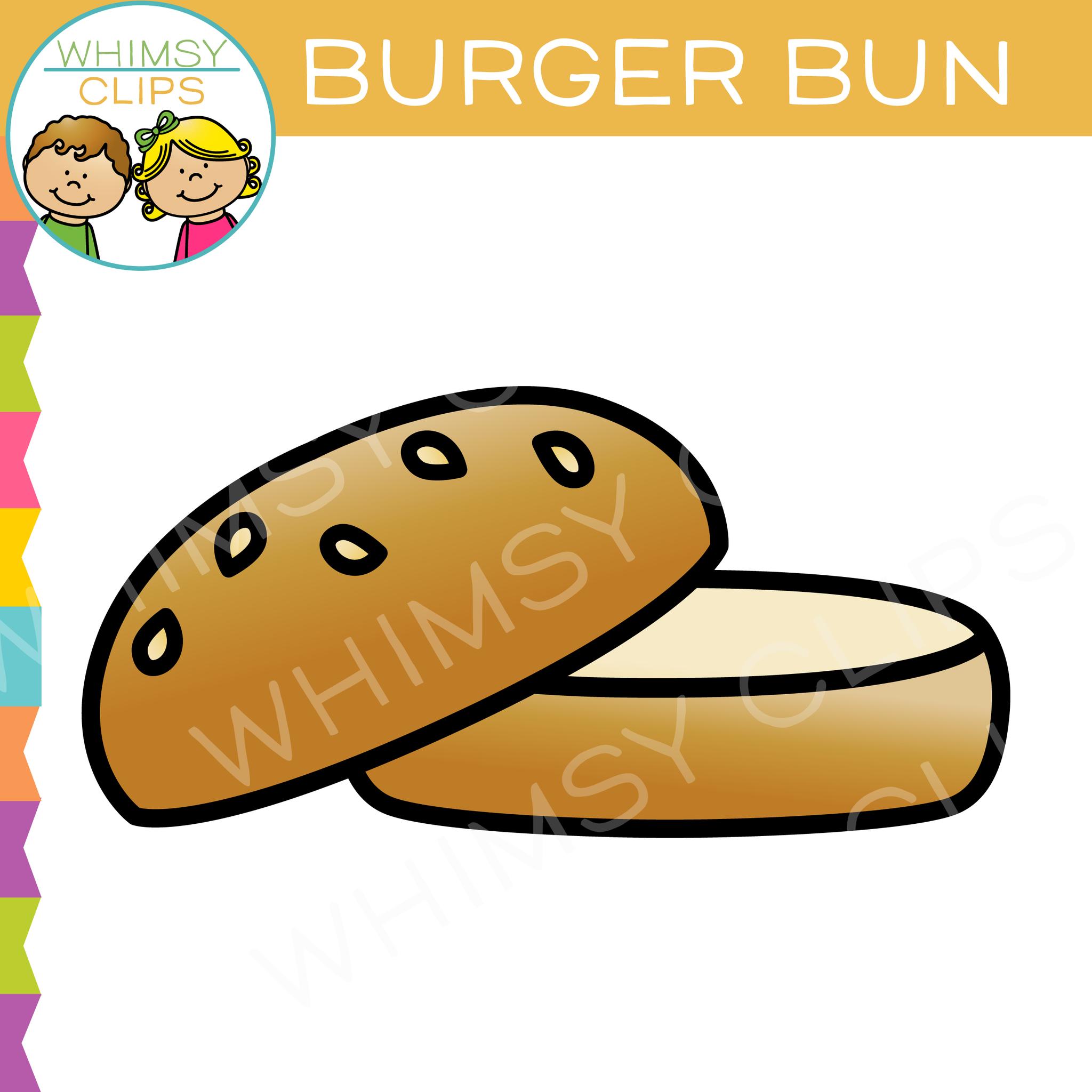 Bun clipart jpg transparent download Burger Bun Clip Art jpg transparent download