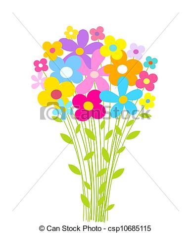 Bunch flowers clip art graphic library stock Bouquet Of Flowers Clip Art & Bouquet Of Flowers Clip Art Clip Art ... graphic library stock