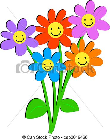 Bunch flowers clip art graphic freeuse Bunch flowers Clip Art and Stock Illustrations. 15,769 Bunch ... graphic freeuse