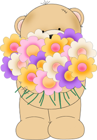 Bunch of flowers clip art clip transparent stock Bunch Of Flowers Clipart - Clipart Kid clip transparent stock