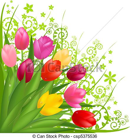 Bunch of flowers clip art free banner royalty free download Bouquet Illustrations and Clipart. 62,164 Bouquet royalty free ... banner royalty free download