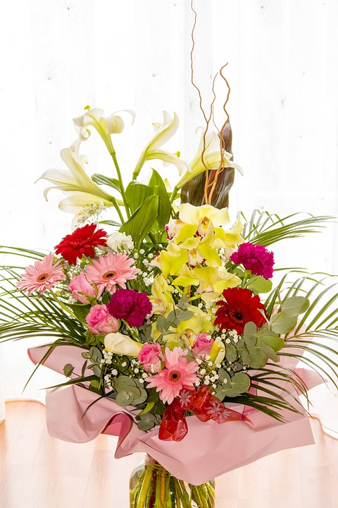 Bunch of flowers picture free. Photo flower bouquet image