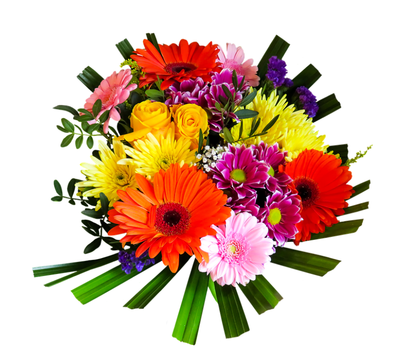 Bunch of flowers picture free picture library stock bouquet of flowers png - Free PNG Images | TOPpng picture library stock