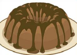 Bundt cake clipart vector library library Bundt cake clipart » Clipart Station vector library library